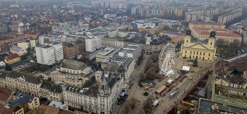 Még mindig rossz a levegő Debrecenben