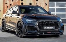 115 millió forint letaglózó ár, még ha egy Audi RS Q8-R-ről van is szó