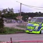 Videó: Ford Transittal versenyeztek egy spanyol ralisprint-futamon