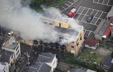 Tizenhárman meghaltak, amikor felgyújtottak egy kiotói filmstúdiót