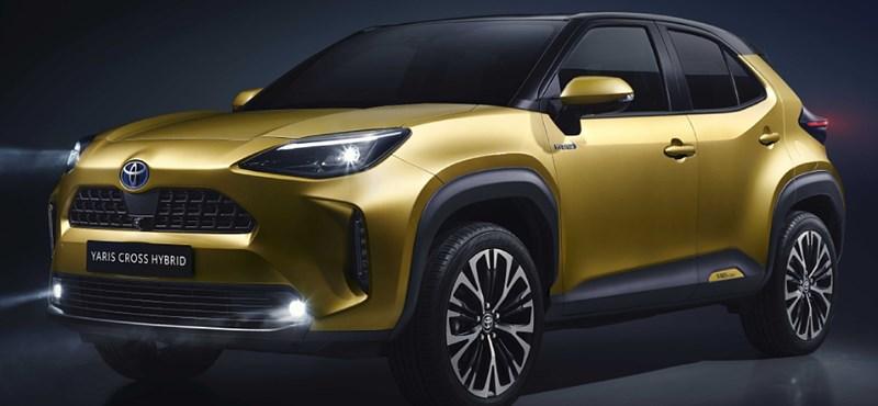 Hibrid összkerekes apróság: itt a minden előzmény nélküli Toyota Yaris Cross
