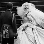 Ismét esküvőn viselték Diana hercegné tiaráját