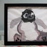 Hétéves kislány festménye az új képzőművészeti szenzáció