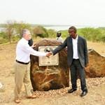 Kövér László Ugandáig ment, hogy felavasson egy emléktáblát
