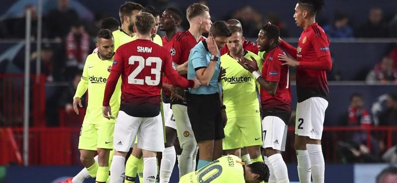 Barca-győzelem Manchesterben, egál az Ajax-Juvén