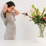Kötött váza holland módra