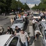 """""""Taxibontó konténer - BKK"""" - vége a tüntetésnek"""