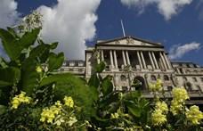 Gigantikus pénztömeget pumpál a Bank of England a brit gazdaságba