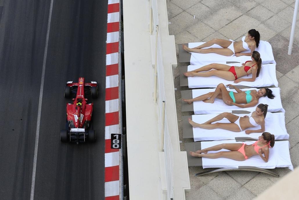 13.05.25. - Monaco: hölgyek a Forma-1 monakói nagydíján. a képen Felipe Massa - évképei, az év sportképei