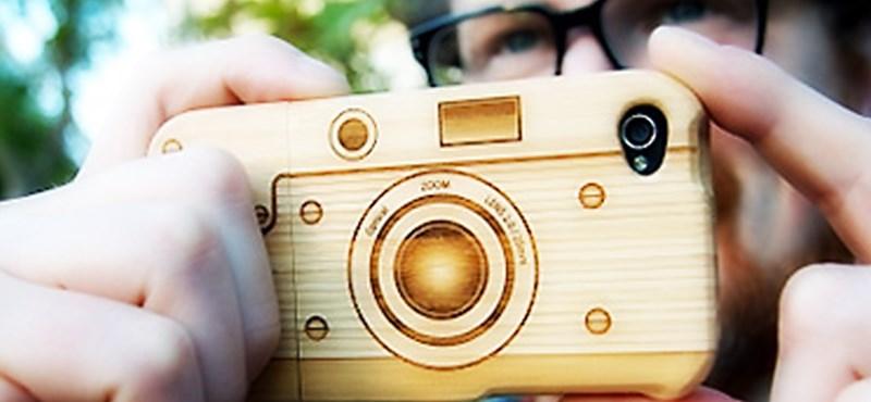 iPhone tok bambuszból [videó]