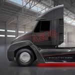 Megelőzték a Teslát, ez a kamion már tisztán elektromosan megy