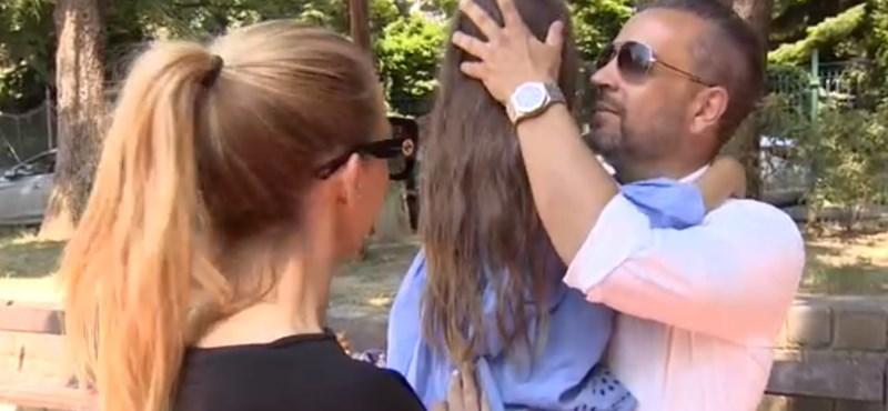 Hat nap után kapták vissza kislányukat a vér szerinti anyától