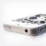 Meglepő Apple-szabadalom: vízálló lesz az iPhone?
