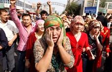 Az ujgurok elnyomása miatt készül szankcionálni Kínát az Egyesült Államok