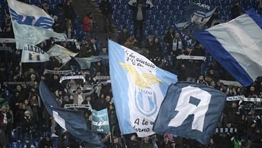 Egymásnak estek a Lazio és a Sevilla drukkerei – videó