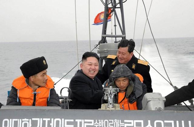 Kim Dzsong Un akcióhős