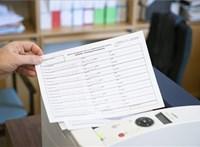 Csaknem 320 ezer ajánlóívet adtak ki a választási irodák az első nap