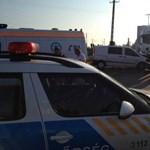Baleset a 42-es főúton: tízen sérültek meg