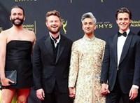 Fekete miniruhás férfi söpört le mindenkit a kreatív Emmy-díjak átadóján