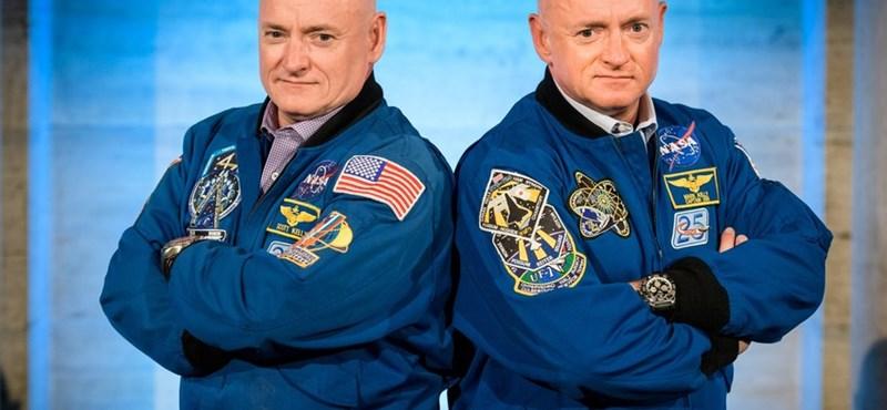 Érdekes eredményeket hozott a NASA páratlan ikerkutatása