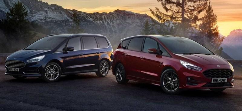 7 személyes hibridek: itt a legújabb Ford S-Max és Galaxy
