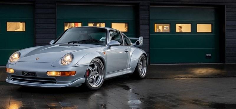 Szuperritka, alig használt régi Porsche bukkant fel