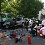 A Fővárosi Vízművek munkatársai haltak meg a Dózsa György úti balesetben