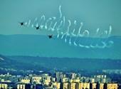 Nézegessen fotókat a Duna fölött parádézó helikopeterekről és repülőkről!