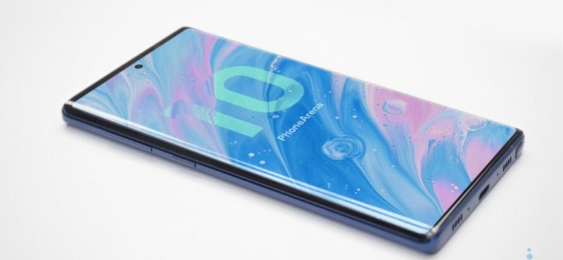 Két kép is készült arról, milyen lehet a Samsung Galaxy Note10