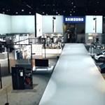 Videó: ilyen volt a Samsung a CES-en egy drón szemével