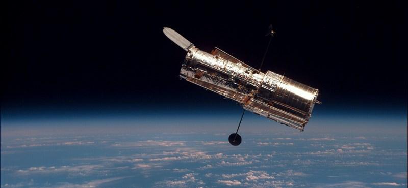 Lenyűgöző fotót készített a Hubble két galaxis összeolvadásáról