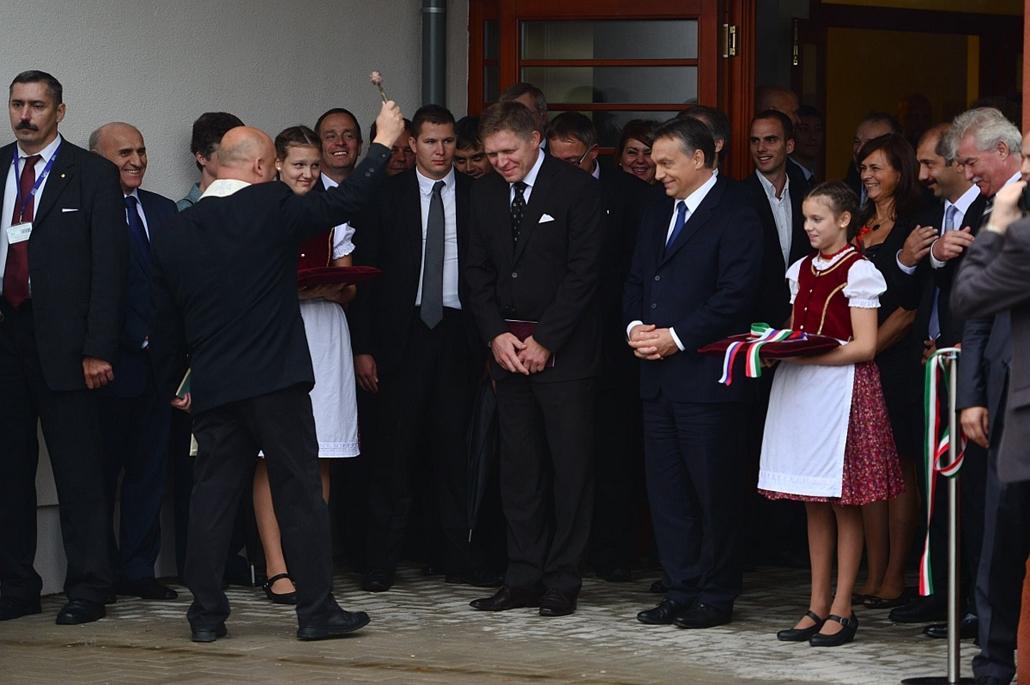 Orbán Viktor és Robert Fico találkozója - Pilisszentkereszt