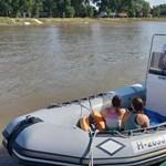 Kimentettek két kislányt a Tiszából a vízirendőrök