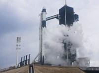 Közbeszólt az időjárás: törölte az irányítás a SpaceX Crew Dragon űrhajó startját