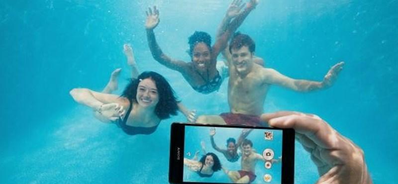 Vízálló Sony-telefon? Nehogy vízbe tegye!