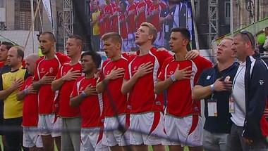 Bronzérmet nyert a focivébén a magyar hajléktalan-válogatott – videó