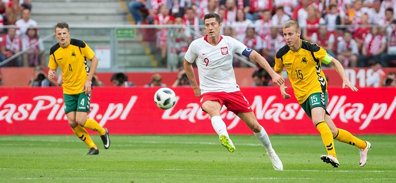 Megszólalt Lewandowski a lengyel égés után