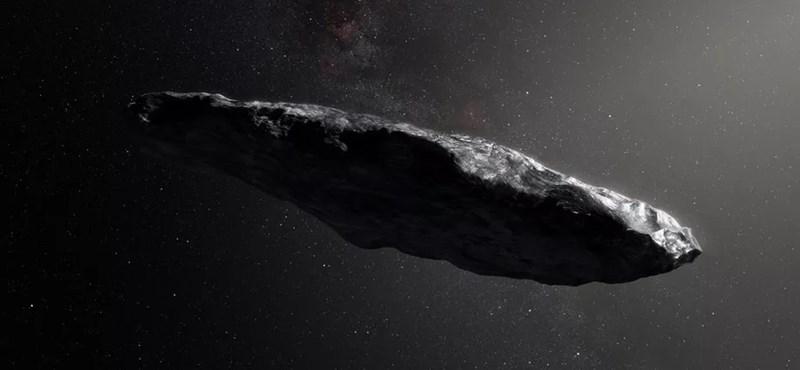 Szétesett csillagközi üstökös maradványa lehet a hosszúkás Oumuamua