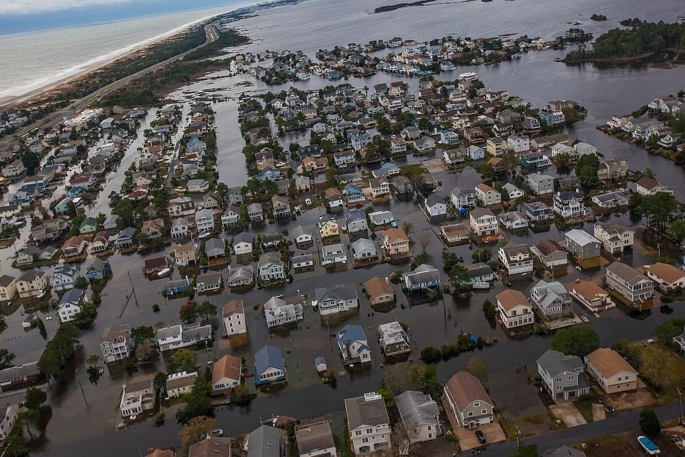 Megérkezett a Sandy hurrikán - Nagyítás-fotógaléria