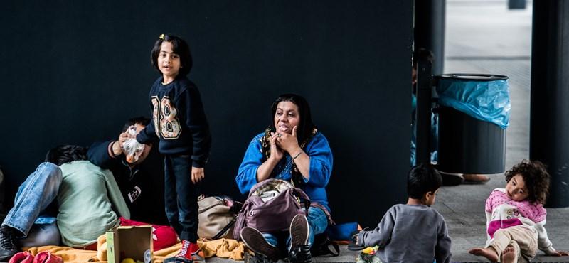 Naponta több tucat migráns igényel orvosi ellátást