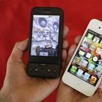 Népszerű okosmobilok: hasít az iPhone és az Android