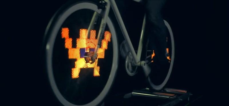 Itt egy remek biciklis kütyü, aminek minden kerékpáron ott lenne a helye