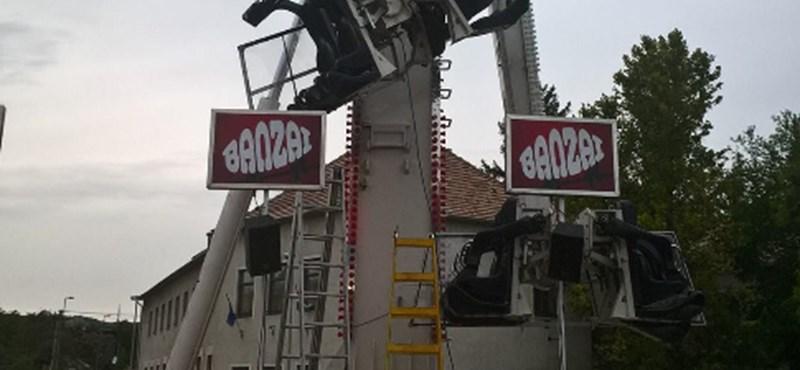 Horrorbaleset Várpalotán: nem lesz többé extrém körhinta