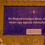 Fotók: Szombathelyen már kikerültek az első ellenplakátok