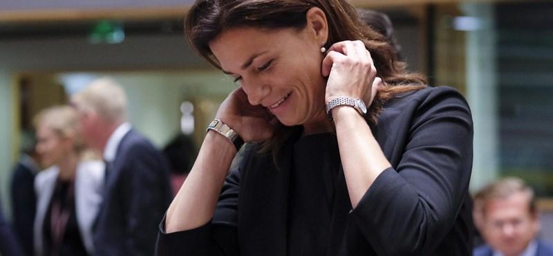 Bosszúhadjáratról és liberális elitről beszélt Varga Judit brüsszeli meghallgatásán