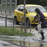 Sok eső jöhet, figyelmeztetést adott ki a meteorológiai szolgálat