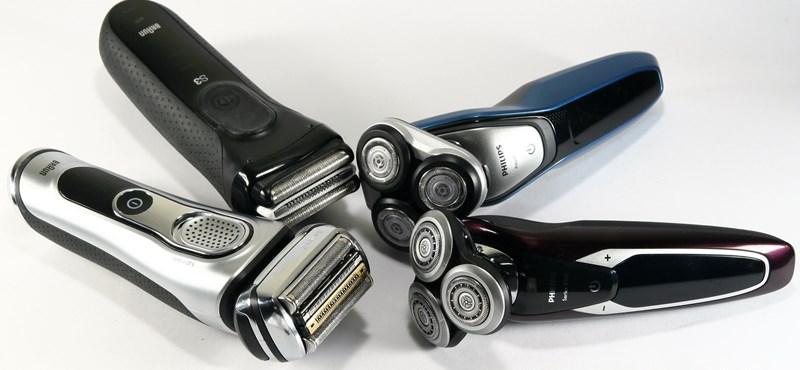 A nagy villanyborotvateszt: olcsóbb vagy drágább, rezgő- vagy körkéses?