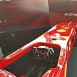 Büntetlen száguldás: Budapestre jött a Ferrari szuper szimulátora