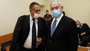 Bíróság elé állt az izraeli miniszterelnök