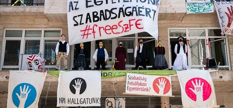 Elmaradt az egyeztetés az SZFE és Káel Csaba között